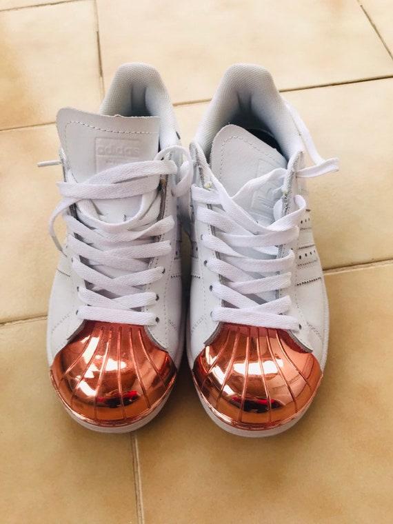 Adidas Superstar Metal Toe Sneakers, Vintage Adida