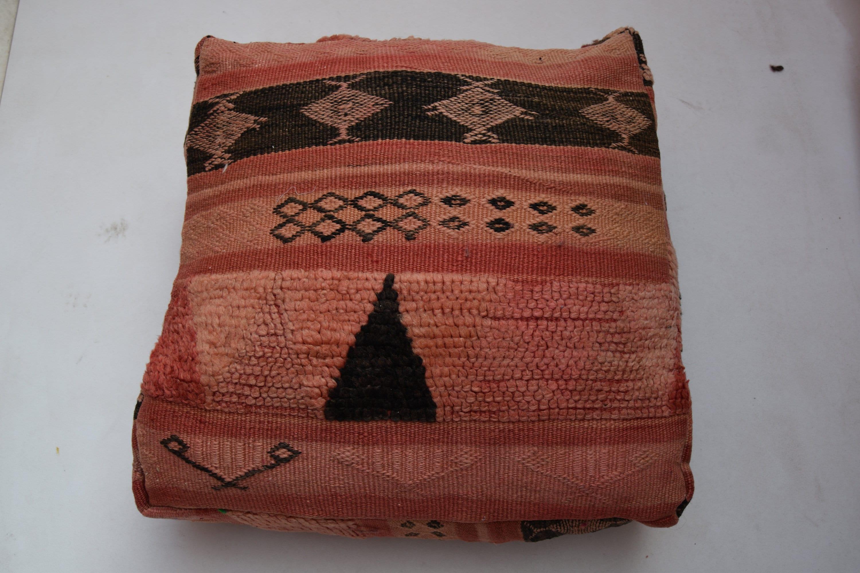 Regalo de boda Kilim silla Azilal puf Home decoración bereber