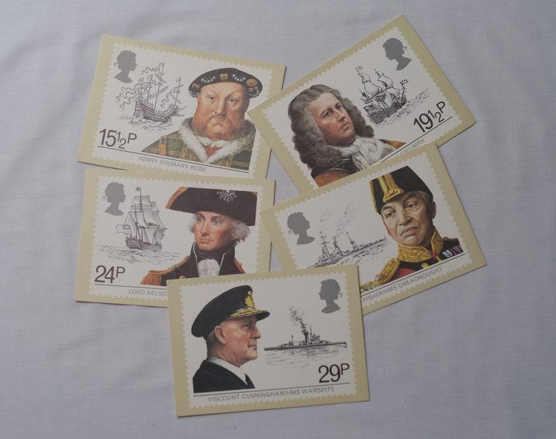 British Post Office 1982 Vintage PHQ Postcards