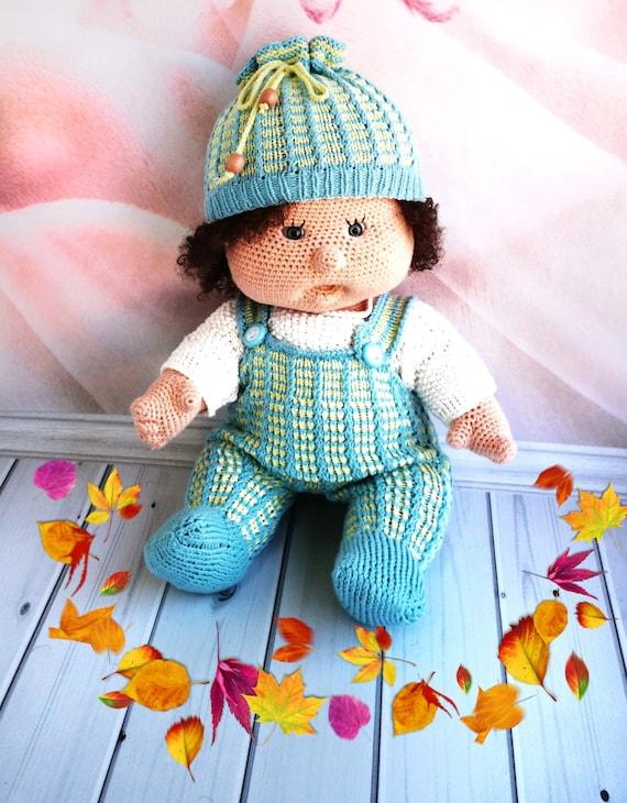 Crochet Doll Clothes Pattern / Amigurumi Clothes Pattern / ENG | Etsy | 730x570