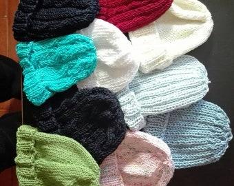 Wool or cotton cap
