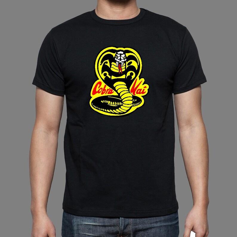 34849211 Cobra Kai Karate Kid retro t-shirt unisex tee men's   Etsy