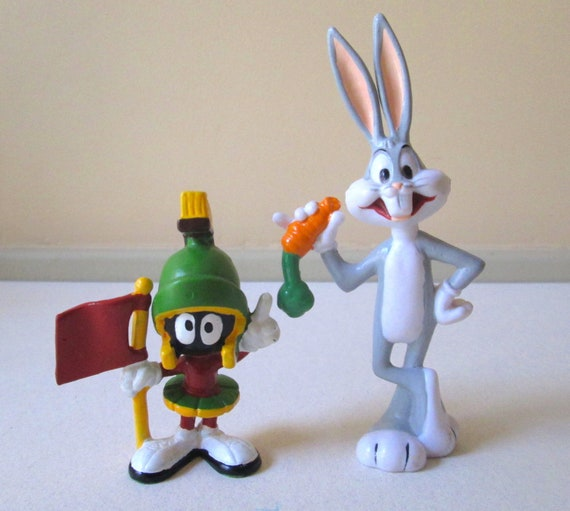 Marvin the Martianpvc Figurewith K 9 1990s BRAND NEW