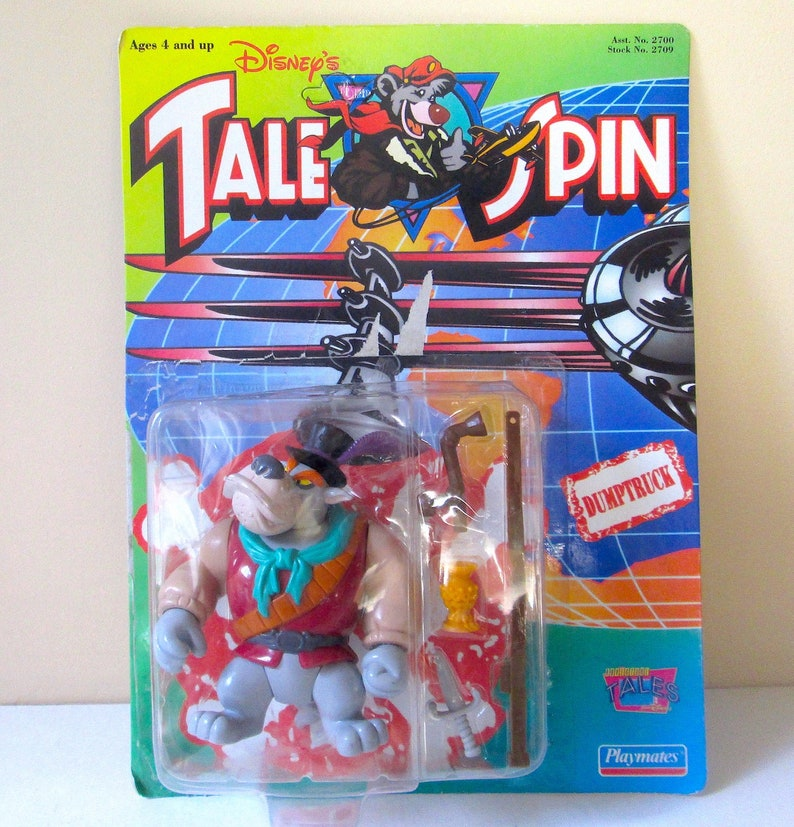 Disneys Talespin Kieshebewerk Action Figur Von Playmates 1991 Etsy