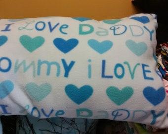 Fleece Baby or kid Pillow