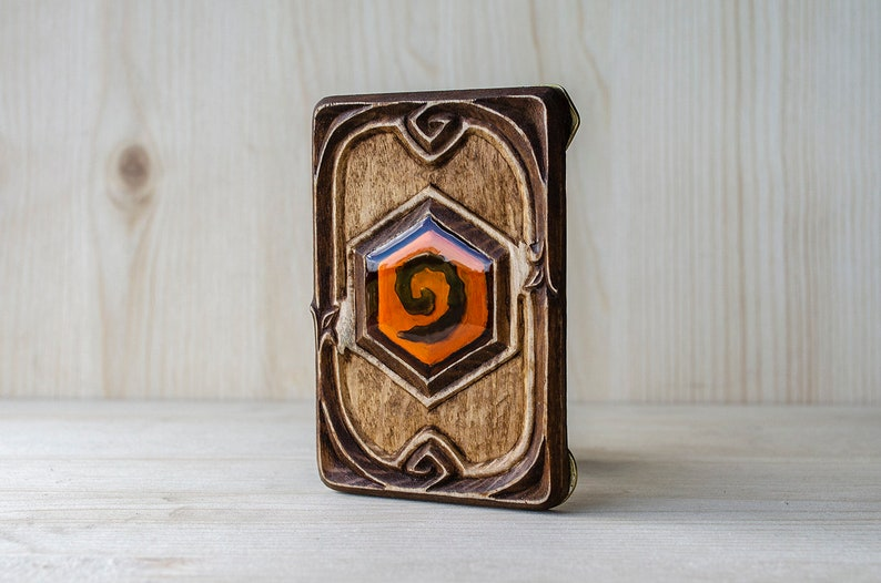 Hearthstone The Lich King handmade collection card