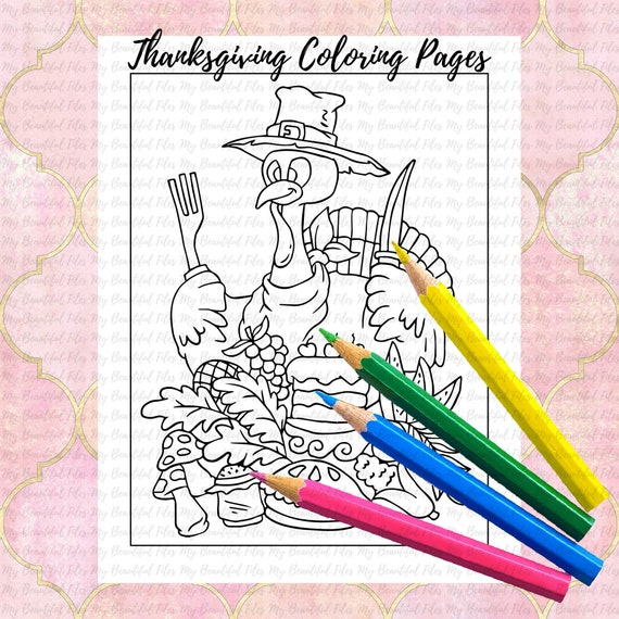 15 Thanksgiving Coloring Pages For Kids Kids Drawing JPG