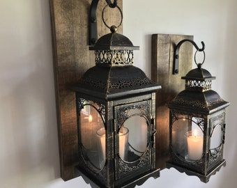 Wall Sconces Etsy