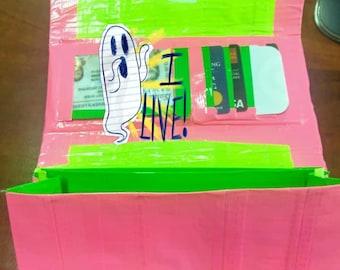 Women's Clutch Duct Tape Wallet