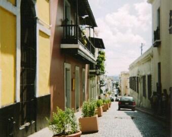 Street of Puerto Rico