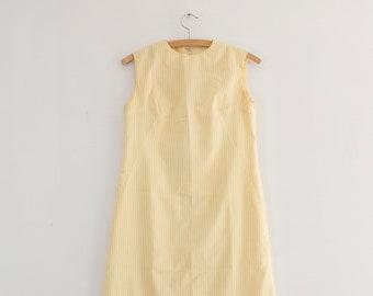 1960s mod shift dress | vintage striped dress