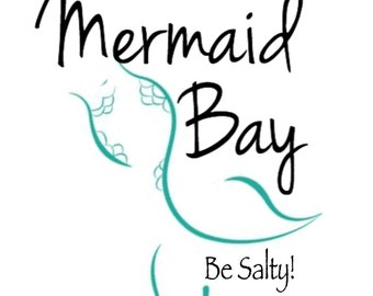Mermaid Bay Original Logo Window Decal