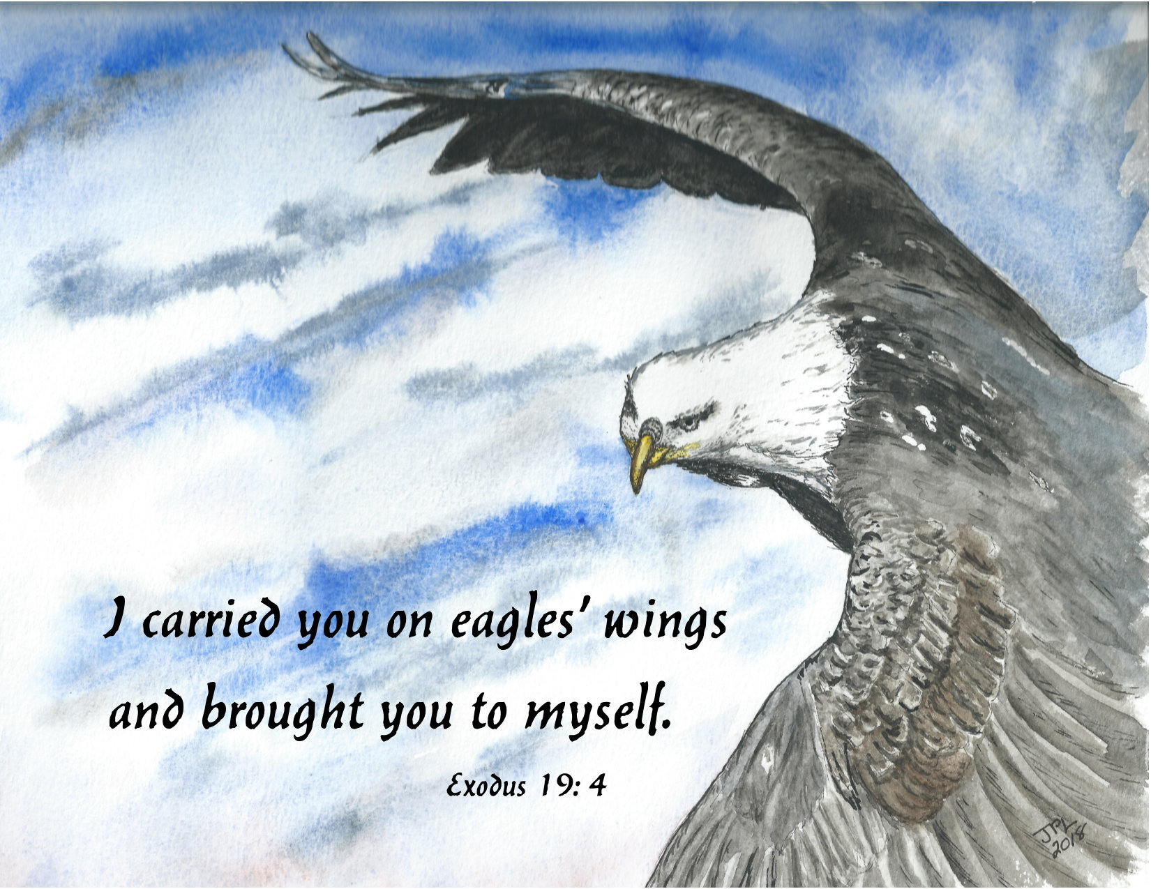I Carried You on Eagle's Wings