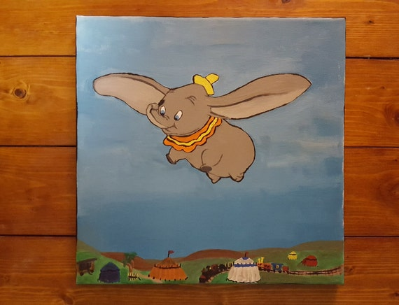 Dumbo, Acrylic Painting on Canvas