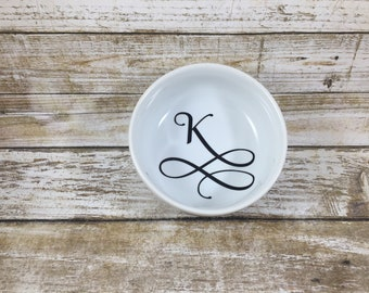 Personalized Ring Dish-Round