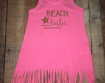 Beach babe FRINGE DRESS