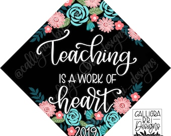Graduation Cap Teacher Etsy