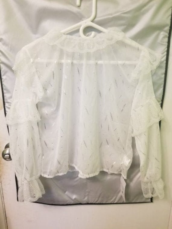 Lacy Lolita Feather Blouse