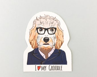 Groodle | Male | Stickers