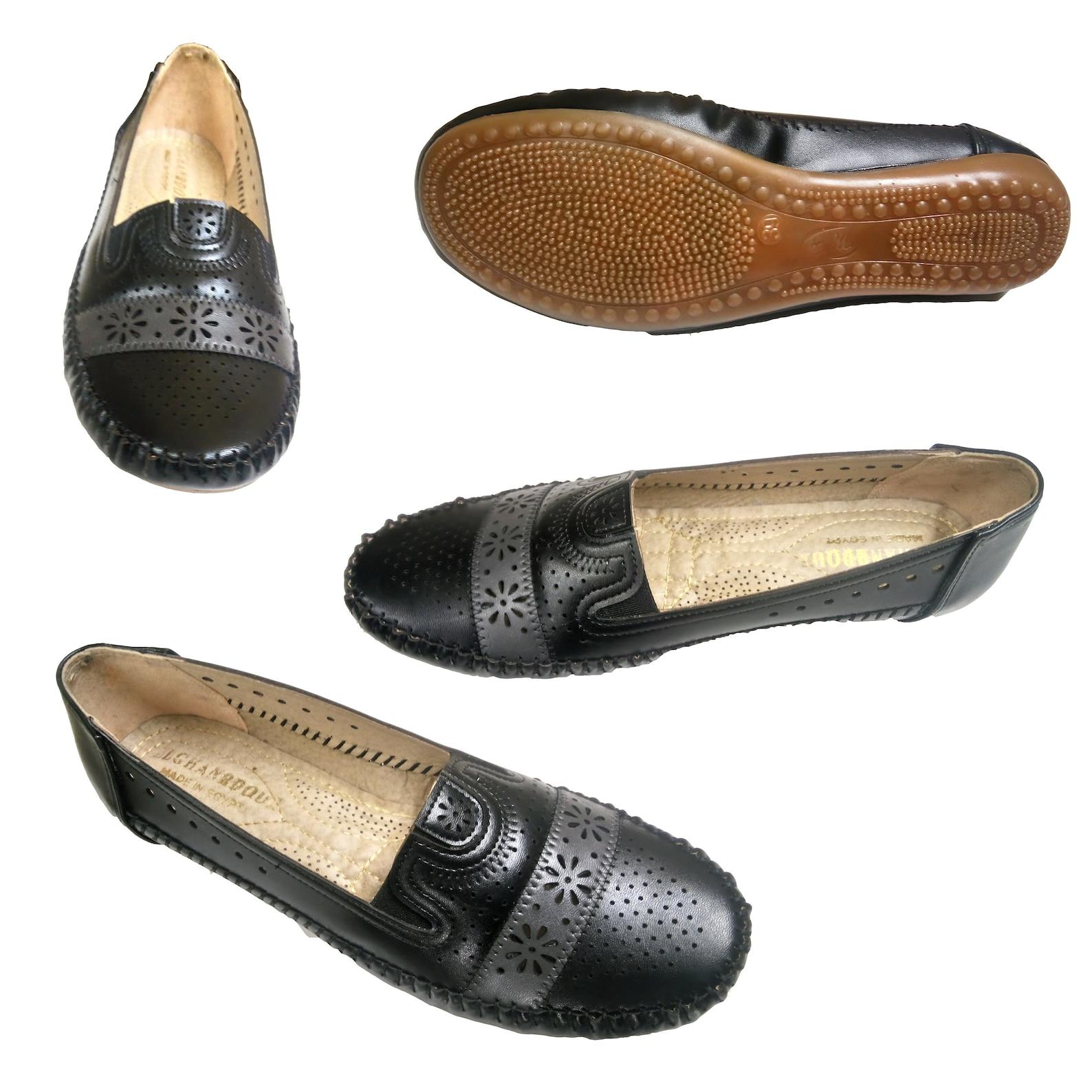shoes flats women new ballet moccasins ballerina ladies comfort casual black 39