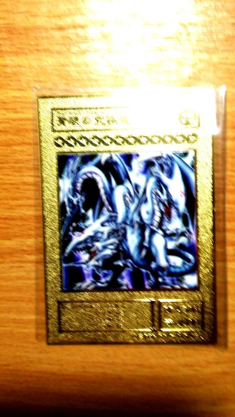 Blue Eyes Ultimate Dragon custom yugioh Orica Gold Yugioh Card