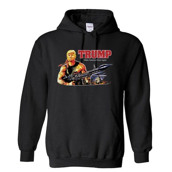 Trump Rambo Hoodie
