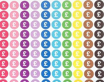 Money Planner Stickers, Icon Stickers, Finance Stickers, Bill Stickers for Happy Planner, Journal Diary Pound Stickers for Erin Condren