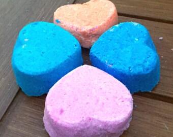 4 piece bath bomb set