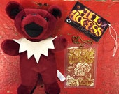 Grateful Dead Bean Bear Collectables - ALL ACCESS Limited Edition (New Old Stock)