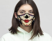 Catrina, Calavera, Mexican Skull, Day of the Dead. Art, Print, Face Mask, Best Selling Item