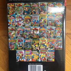 Marvel Comics Captain Marvel Ms Marvel Omnibus Volume 1 Etsy
