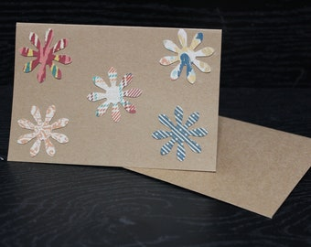 Flower Power Note Cards, Blank Cards with Envelopes