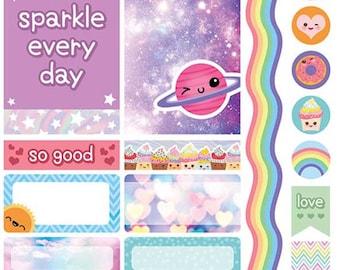 Planner Stickers: Kawaii Planner Sticker Pack