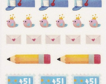 Pen Pal Letter Stickers
