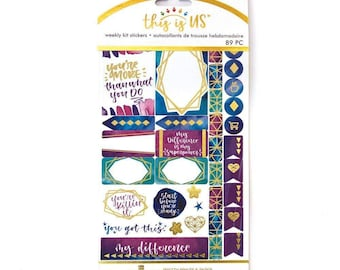Empowerment Planner Sticker Kit