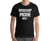Christian T-Shirt - Worship Mode On