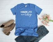 Made to Worship Short-Sleeve Women's T-Shirt
