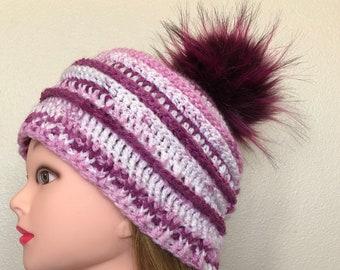 Perpetually Pink Top Down Katniss Hat ebcb529983a