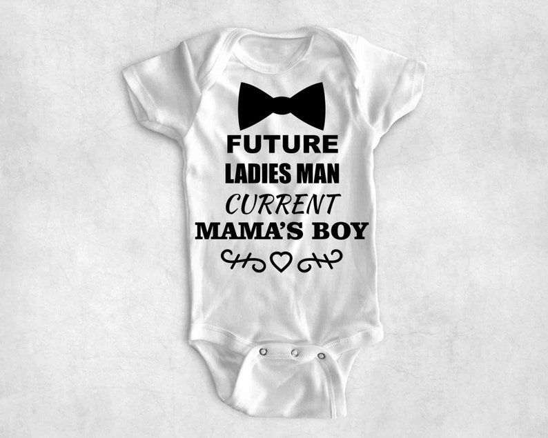 9c1f4bce Future Ladies Man Current Mama's Boy Svg / Baby Boy Svg / | Etsy