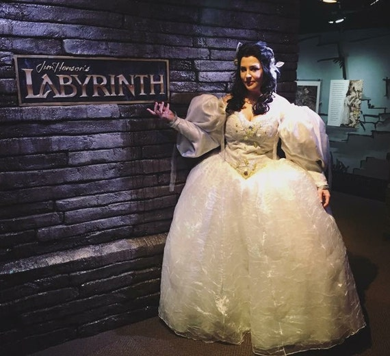 Sarahs Hallucination Labyrinth Ballgown Cosplay Costume Etsy