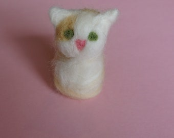 Cat felted
