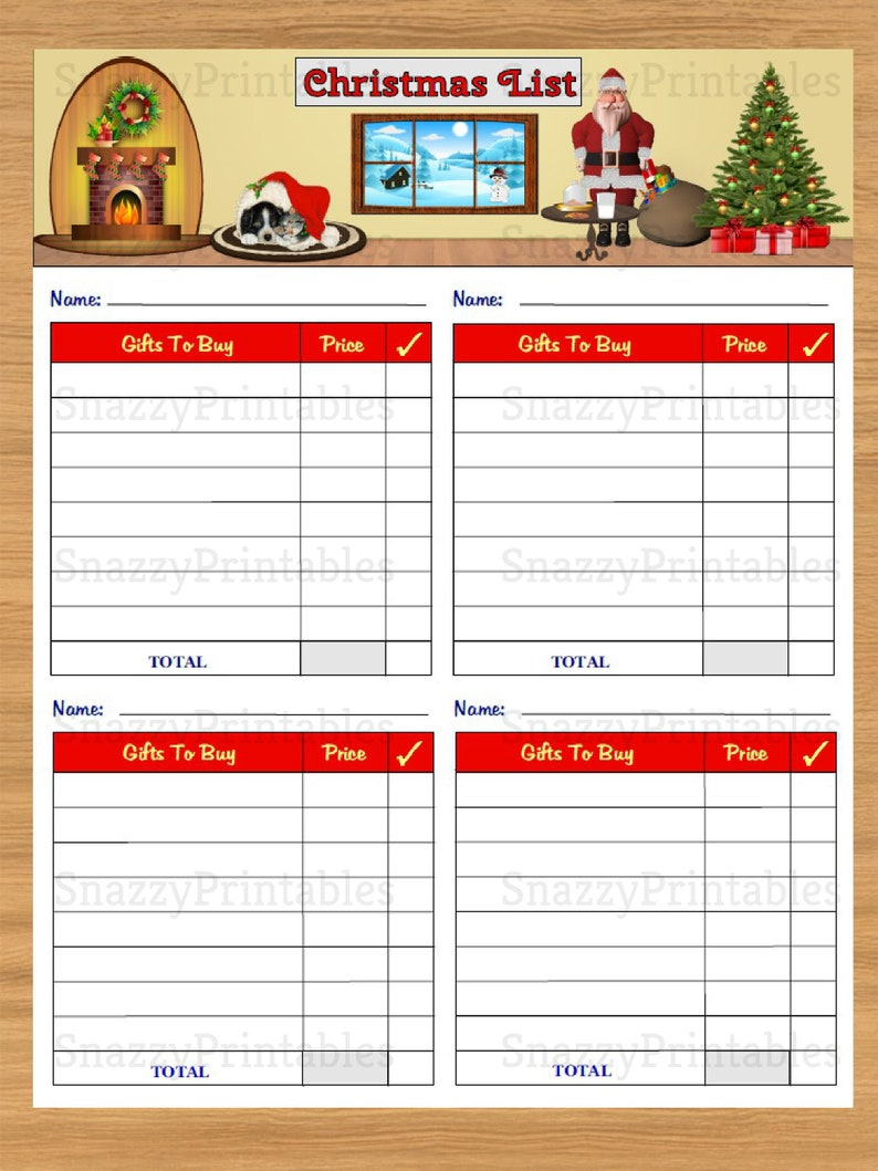 photo about Printable Christmas Shopping List titled Xmas Reward Checklist Printable, Xmas Searching Record, Xmas Planner, Xmas Checklist, Prompt Obtain