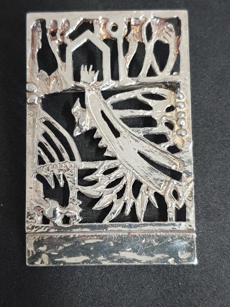Brooch 925 silver design by Jeroen Krabb\u00e9 pendant Dutch actor. Jeroen Krabb\u00e9