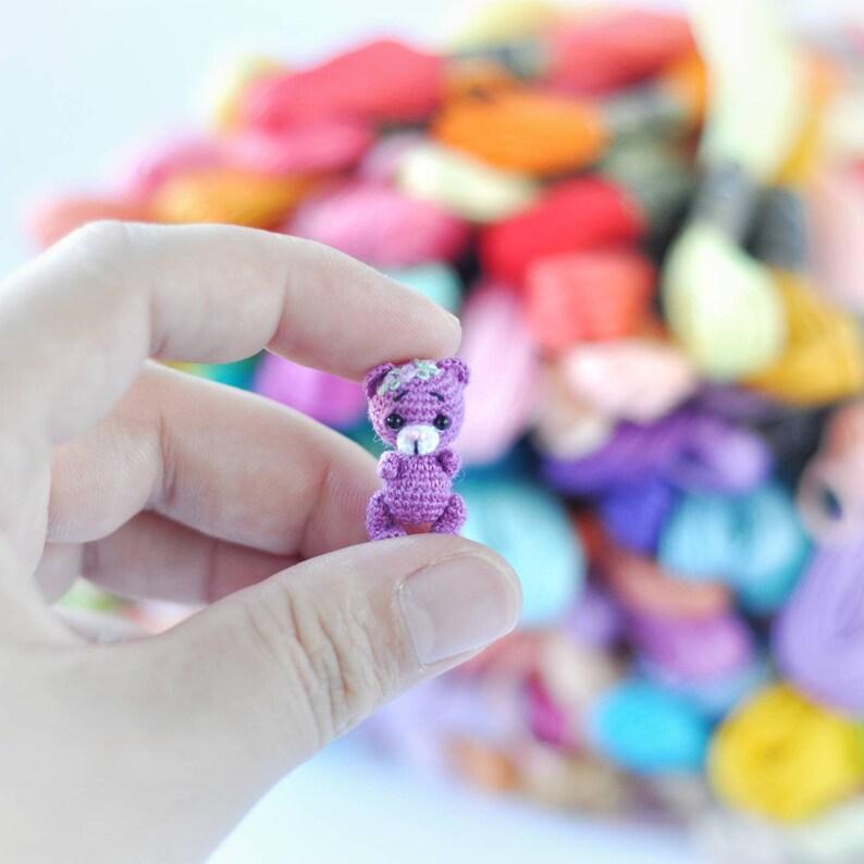 Amigurumi Mini Teddy Bear Free Crochet Pattern | 794x794