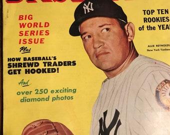 Vintage Complete Baseball Magazine 1952
