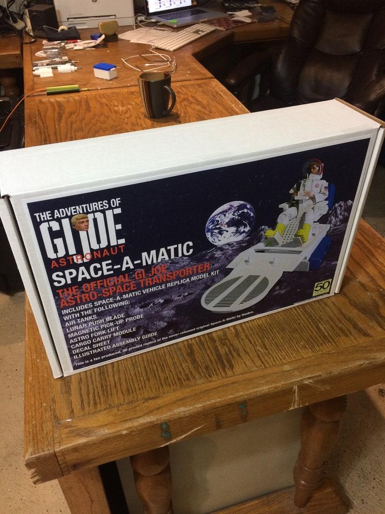 SPACE-A-MATIC 3D printed replica model kit