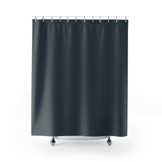 Shower Curtain Charcoal Bathroom Decor Designer