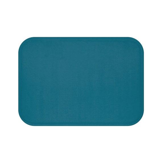 Turquoise bain tapis salle de bain décor Turquoise intérieur Design ...