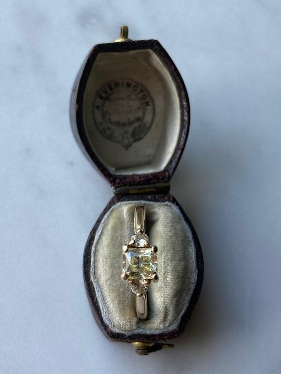 Incredible Art Deco Yellow Diamond