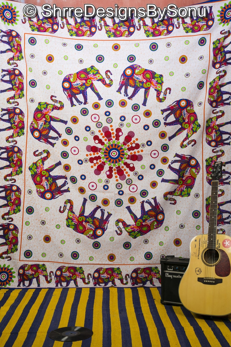 Bedding 85*55 Twin Size Guitar Art Jimi Hendrix Tapestry Wall Hanging Bedspread